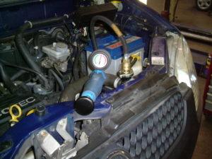 Auto Wisse - Koelsysteem afpersen